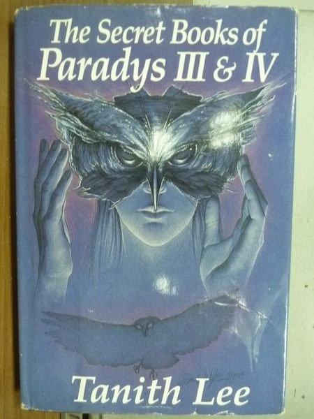 ~書寶 書T3/原文小說_OFR~The secret books of Paradys
