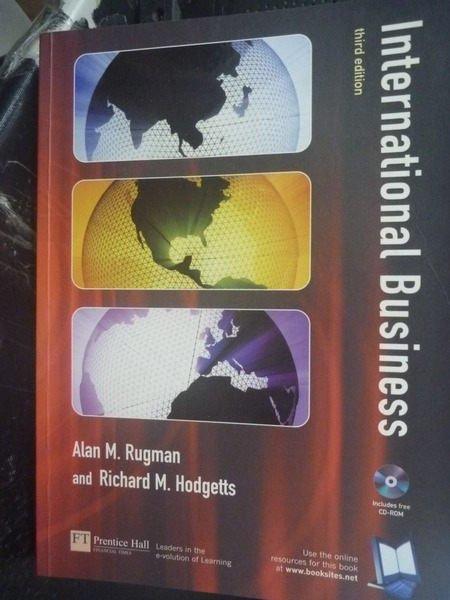 【書寶二手書T7/大學商學_YDK】International Business3/e_附光碟