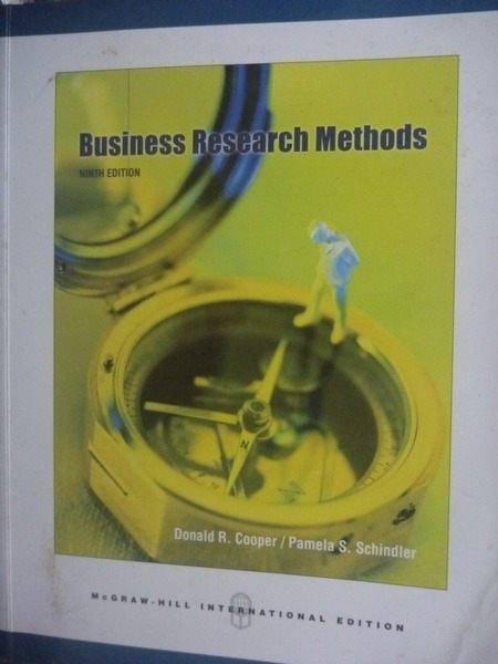 【書寶二手書T8/大學商學_YDK】Business Researc 9/e附光碟