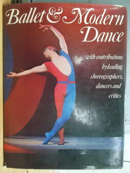 【書寶二手書T7/藝術_YAT】Ballet & modern dance_1974