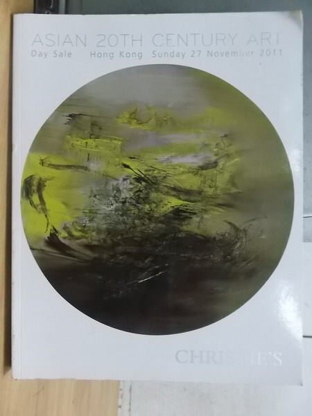 【書寶二手書T4/收藏_XGS】Christies_2011_asian 20th century art