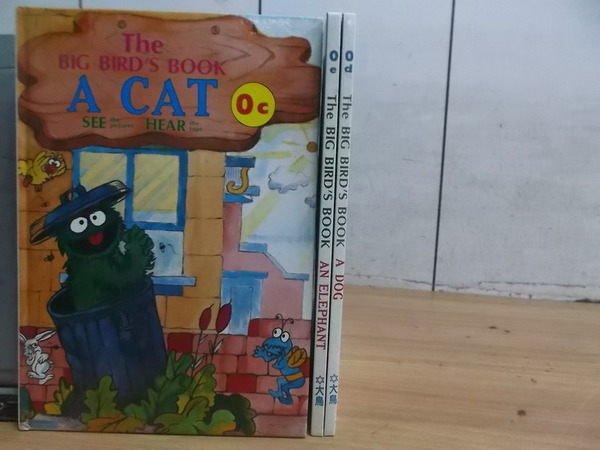【書寶二手書T8/少年童書_WEE】A Cat_A Elephant等共3本合售
