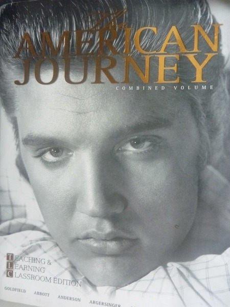 【書寶二手書T2/大學教育_ZDJ】The American Journey5/e