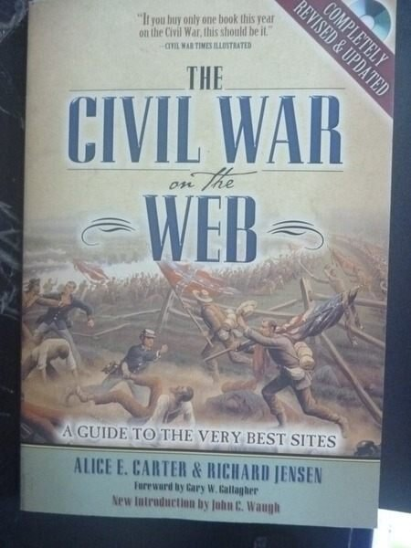 ~書寶 書T6/電腦_ZEG~The Civil War on the Web_附光碟