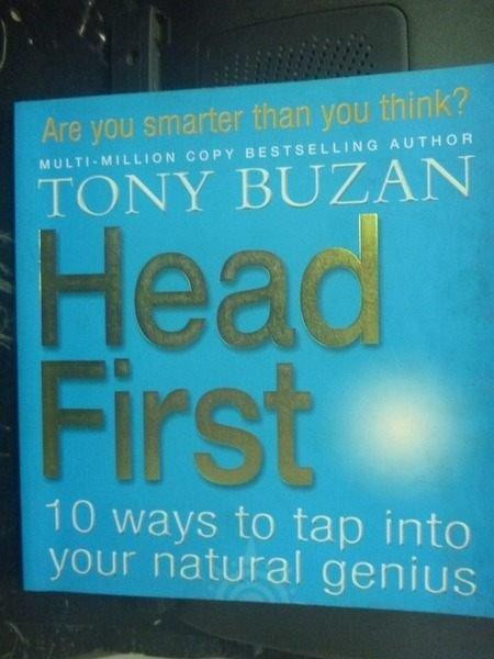 【書寶二手書T5/財經企管_GQD】Head First!: Youre Smarter