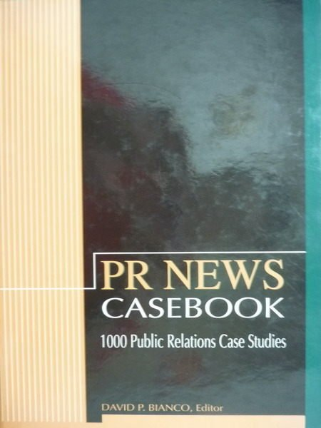 ~書寶 書T2/大學社科_PKP~Pr News:Casebook_David P.Bia