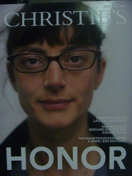 【書寶二手書T8/收藏_ZIT】Christies_2014/6~7_Honor等