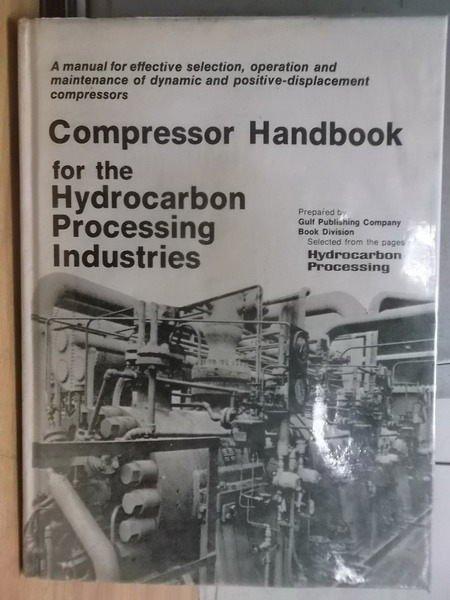 【書寶二手書T9/大學理工醫_ZFN】Compressor Handbook
