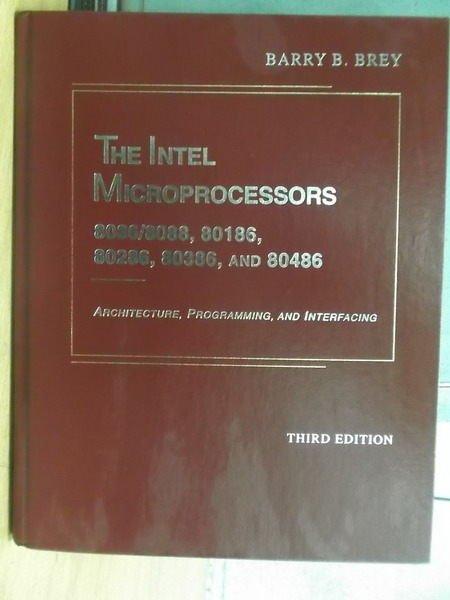 【書寶二手書T5/大學理工醫_ZFN】The Intel Microprocessors…3/e