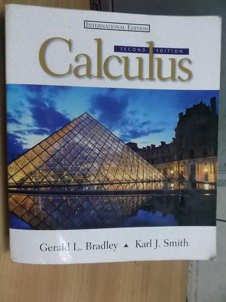 ~書寶 書T2/大學理工醫_YFO~Calculus_2 e_Smith_1999年