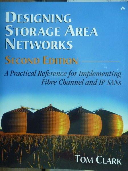 【書寶二手書T8/大學資訊_QBP】Designing Storage Area Networks_2/e