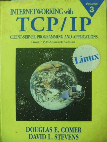 【書寶二手書T5/大學資訊_ZER】INTERNETWORKING WITH TCP/IP VOL.3
