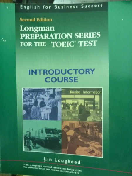 【書寶二手書T3/語言學習_PMW】Longman…Test:Introductory Course_2/e