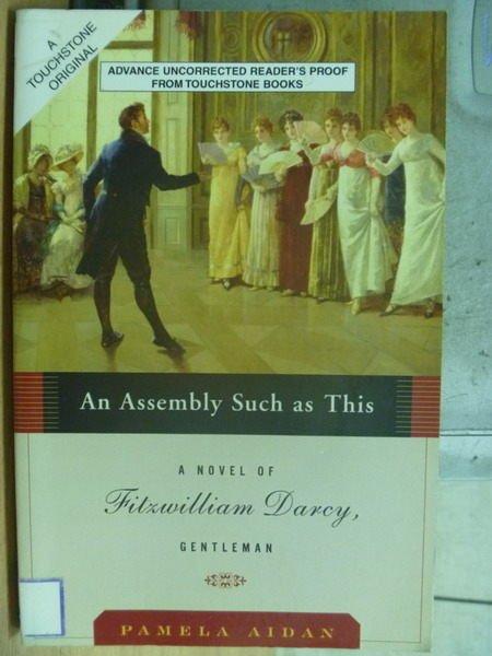 【書寶二手書T6/原文小說_MQY】A Novel or Filrwilliam Darcy_Pamela Aidan