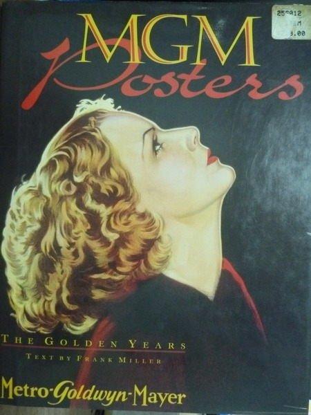 ~書寶 書T5/ _PIY~MGM Posters_Frank Miller