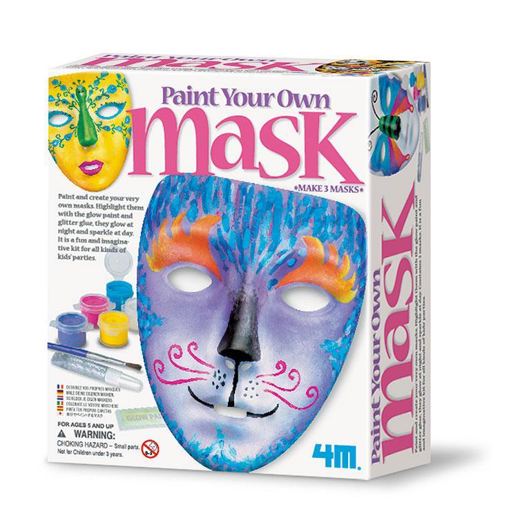 【4M】美勞創作系列-變臉三部曲 Paint Your Own Mask 00-04544