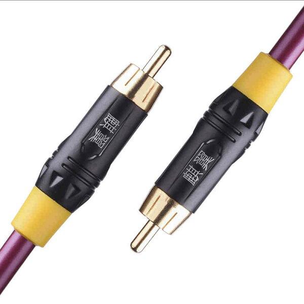 美琪同軸線75歐鍍銀4a音頻線spdif(直購價為0.5米)
