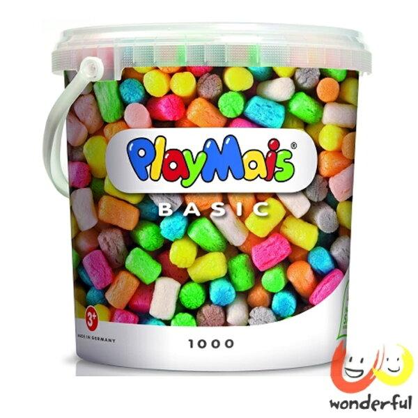 【獨家下殺88折】Playmais玩玉米創意黏土超值桶輕鬆沾水建構小小世界【寶貝樂園】