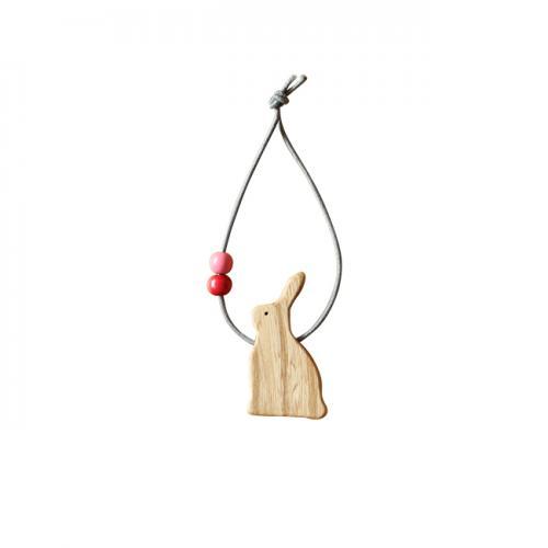【MUKU工房】 北海道 旭川 工藝 tek 無垢 多功能動物裝飾 束繩 (原木  /  實木) 3