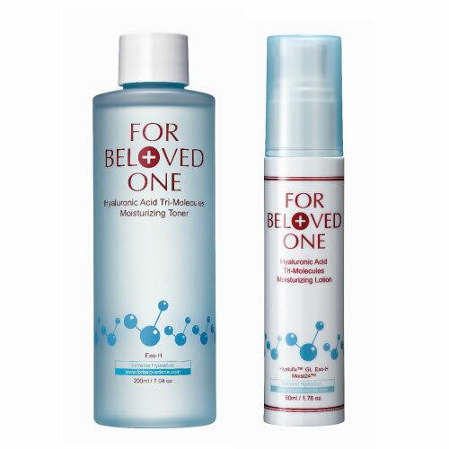 寵愛之名三分子玻尿酸保濕化妝水200ML+三分子玻尿酸保濕乳液50ML