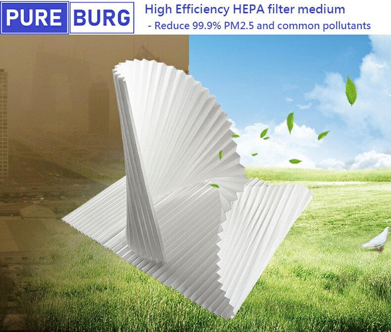 適用【Blueair 體感操控 超靜音SENSE+空氣清淨機】加強Smokestop活性碳HEPA濾網2入組 6