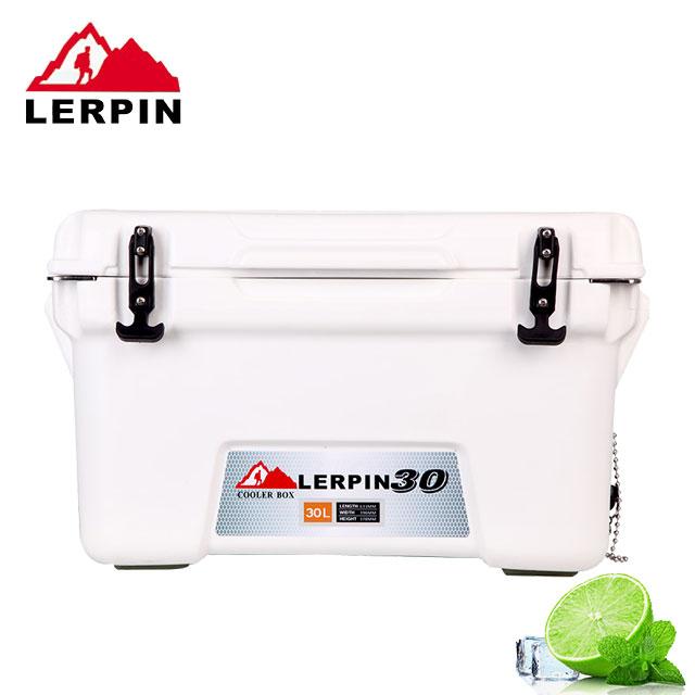 買就贈送三段式摺疊冰箱架【RV運動家族】LERPIN-30L 冰霸十日鮮冰桶(30公升)