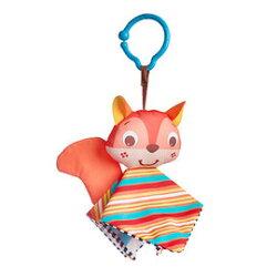 【淘氣寶寶】Tiny Love 夾偶-松鼠【隨身攜帶並可掛在嬰兒推車、提籃汽座及嬰兒床上】