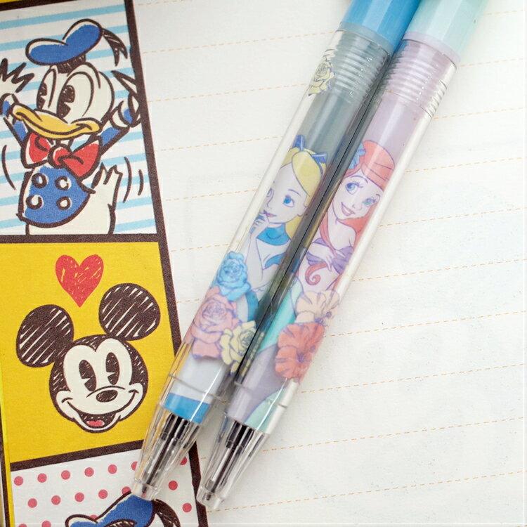 PGS7 迪士尼系列商品 - 迪士尼 公主 花朵 系列 原子筆 愛麗兒 Ariel 愛麗絲 Alice【SHA7151】