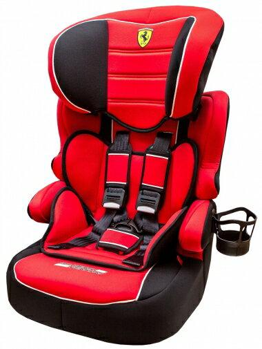 【淘氣寶寶】法國 Ferrari 法拉利 旗艦 成長型汽座 3-12歲專用(含杯架)【公司貨●法國生產製造●品質保證】