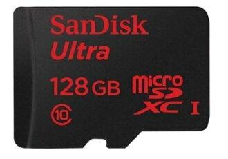 可傑 Sandisk Ultra Micro SDXC 128GB 48MB/s C10 總代理公司貨