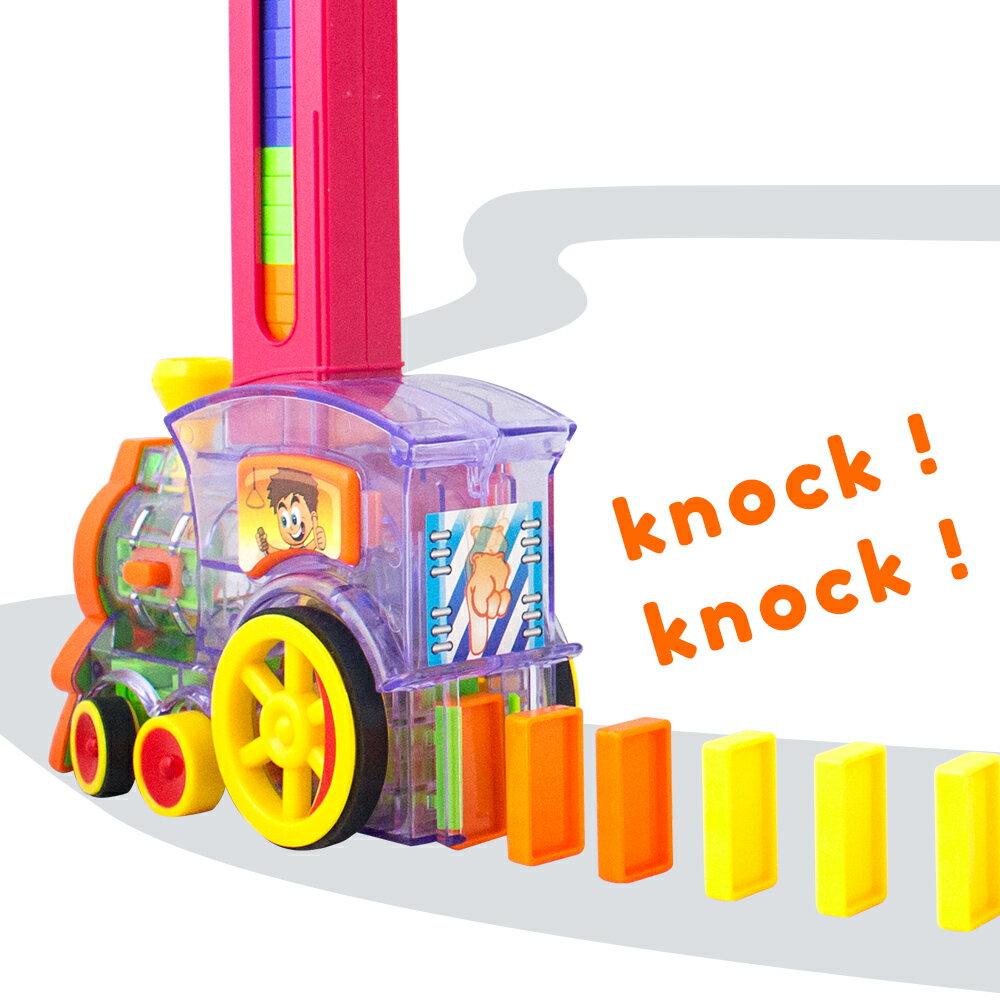 【瑪琍歐玩具】電動多米諾骨牌火車/SC8332