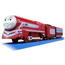 【預購】日本進口最新!Plarail 湯瑪士 電動軌道火車 Caitlin TS-24 鐵道王國【星野日本玩具】