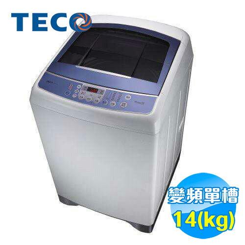 東元 TECO 14公斤單槽洗衣機 W1491XW 【送標準安裝】