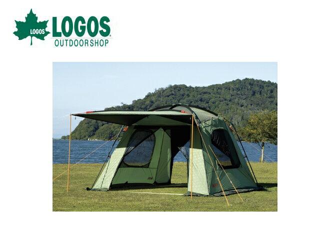 【露營趣】中和 附手電筒 LOGOS LG71807002 PANEL 綠楓I3030 客廳帳 炊事帳 網屋
