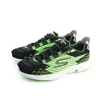SKECHERS GORUN 5 運動鞋 黑綠色 男鞋 no526