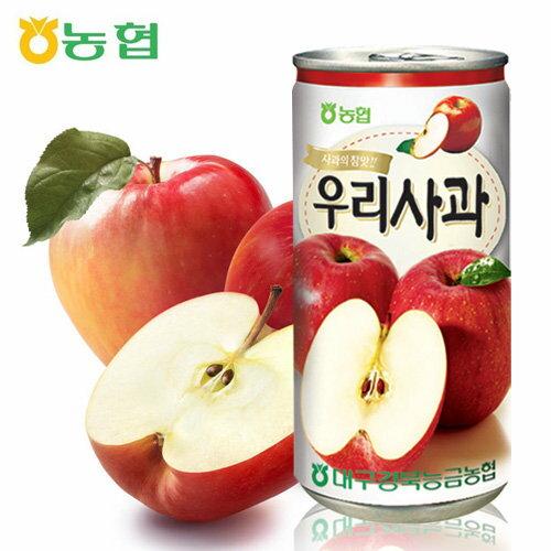 韓新館:團購優惠價---韓國蘋果果汁×6盒(90罐)★1月限定全店699宅配免運