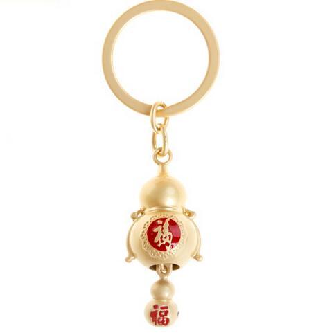 葫蘆汽車鑰匙扣掛件可愛鑰匙鏈女文創禮物情人節女生禮物兒童送禮