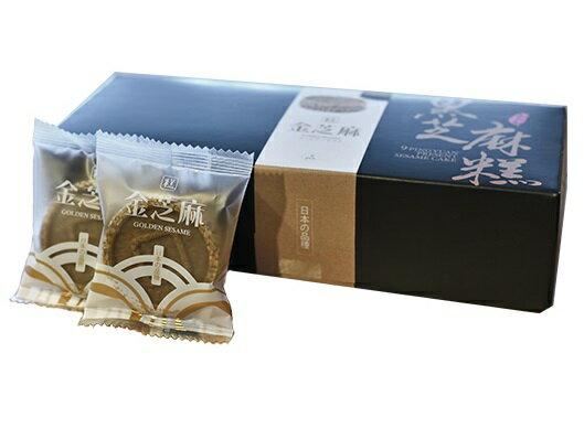 【九品元】頂級金芝麻糕(9入/盒) x1盒 2