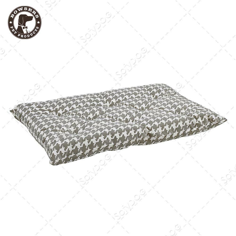BOWSERS加厚極適寵物睡墊-灰白千鳥紋-M - 限時優惠好康折扣