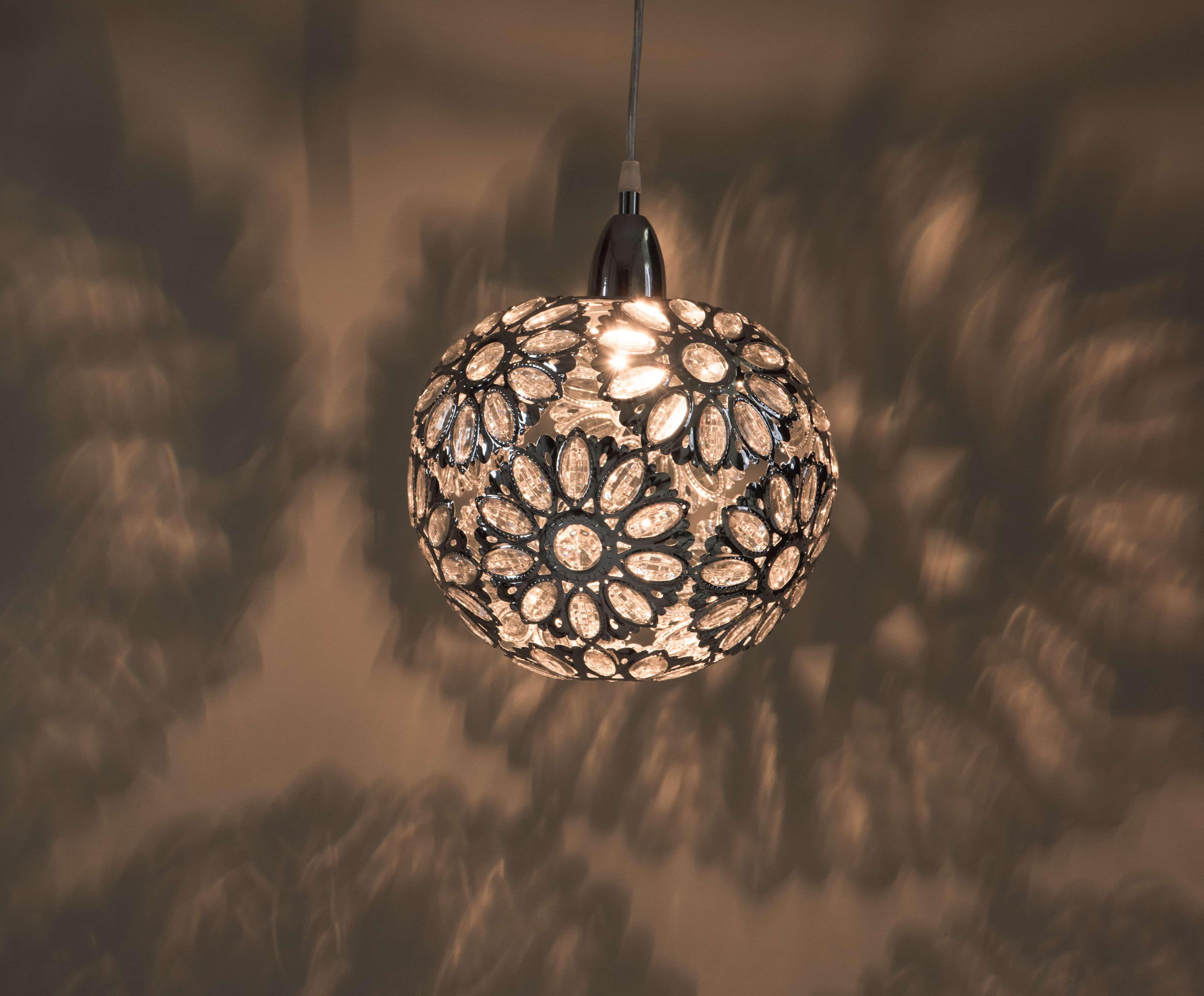 鍍鉻波斯蘭菊吊燈-BNL00086 6