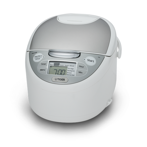 TIGER JAX-S SERIES MICOM RICE COOKER WITH FOOD STEAMER & SLOW COOKER WITH TACOOK PLATE 3f03a8e4b1e99b5f8aa67cb3980522d5