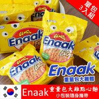 韓國 Enaak 重量包 大雞麵 香脆點心麵 (單包3入組) 90g 小雞點心麵 小雞麵 隨手包 點心麵【N101492】