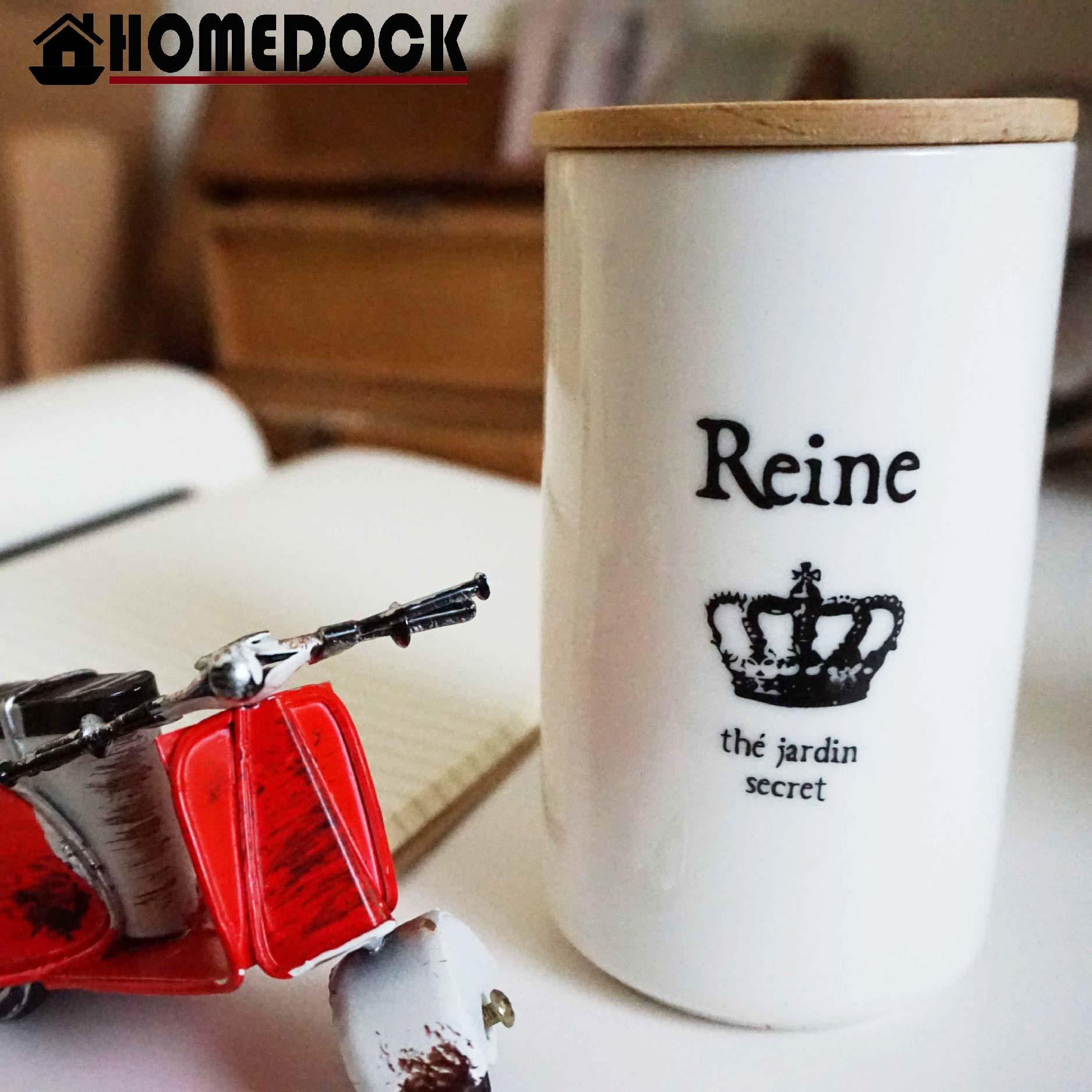 HOMEDOCK-鄉村陶瓷杯+蓋