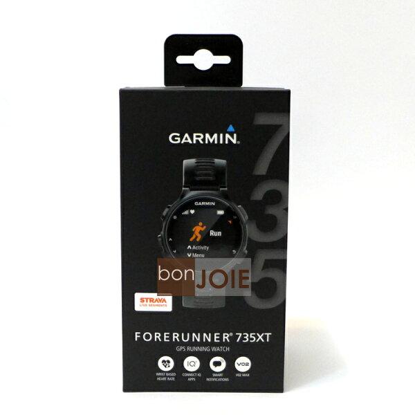 ::bonJOIE::美國進口美國版GARMINForerunner735XT漆黑神秘灰防水全能運動錶(全新盒裝)運動手錶實物拍攝735XT