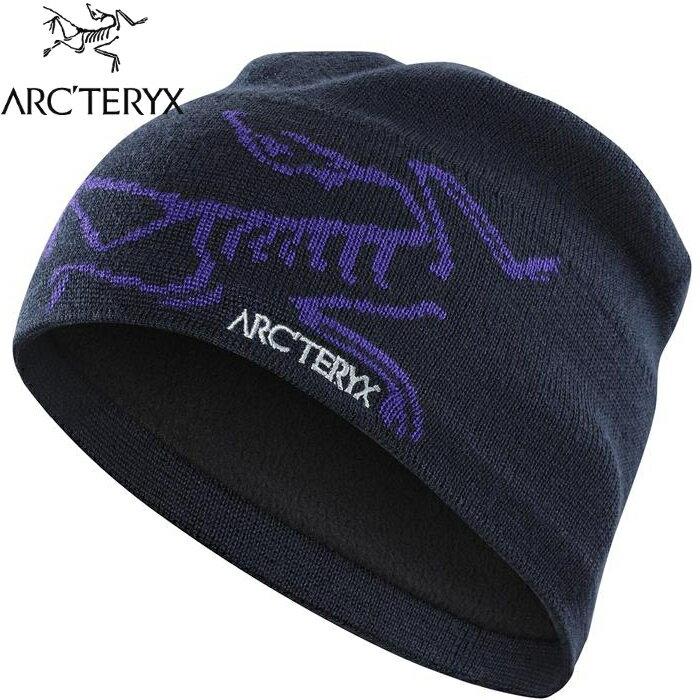 Arcteryx 始祖鳥 登山毛帽/滑雪/羊毛保暖帽 Bird Head 5681 黑寶石/大麗花紫 Arc\
