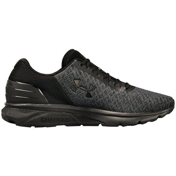 《下殺69折》Shoestw【3020333-003】UNDER ARMOUR UA 慢跑鞋 Charged Escape 2 全黑 碳黑 男生 1