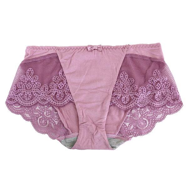 【依夢】無鋼圈系列平口褲(紫)