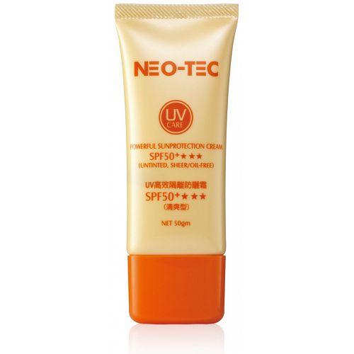 【NEOASIA妮傲絲翠】UV高效隔離防曬霜SPF50+(清爽型)(50gx2)