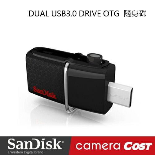 SanDisk DUAL USB3.0 DRIVE OTG16GB 隨身碟 (公司貨) - 限時優惠好康折扣