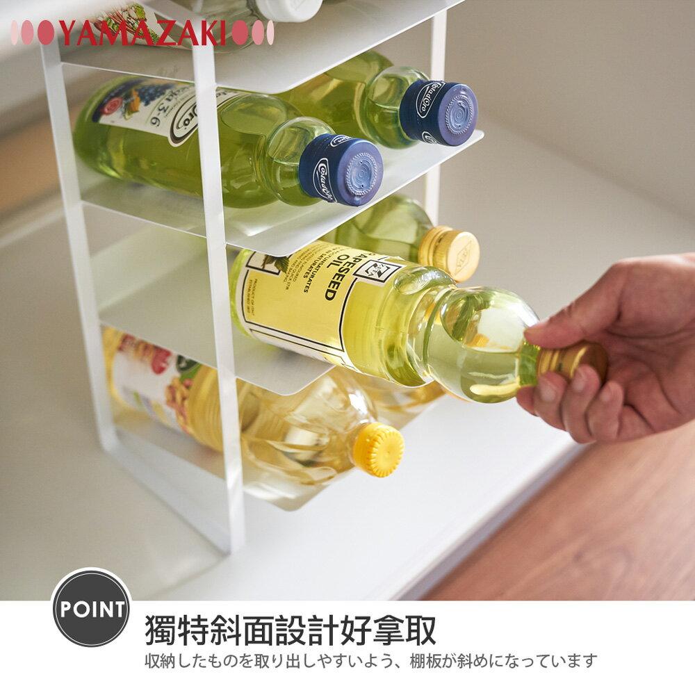 日本【YAMAZAKI】tower水槽下置物架(白) 5